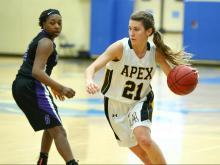 Girls Basketball: Riverside vs. Apex (Dec. 29, 2015)
