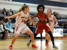 Girls Basketball: Rolesville vs Middle Creek (Nov. 16, 2016)