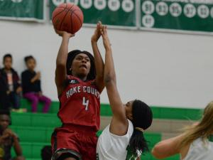 Girls Basketball: Hoke County vs. Cary (Dec. 5, 2016)