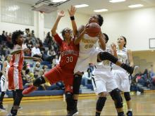 Girls Basketball: Rolesville vs. Knightdale (Dec. 8, 2016)