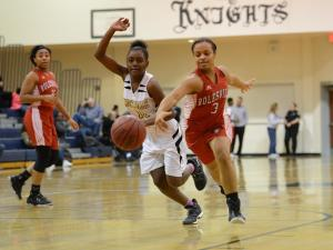 Girls Basketball: Rolesville vs. Knightdale (Dec. 8, 2016)