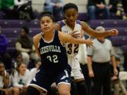 Girls Basketball: Leesville Road vs. Broughton (Dec. 13, 2016)