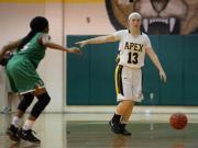 Girls Basketball: Apex vs. Cary (Jan. 13, 2017)
