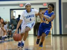Girls Basketball: Garner vs Clayton (Jan. 31, 2017)