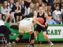 Girls Basketball: Green Hope vs. Cary (Feb. 3, 2017)