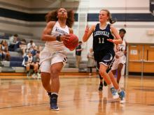 Girls Basketball: Leesville Road vs. Millbrook (Feb 7,  2017)