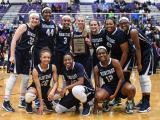 Cap 8 Girls Basketball Championship at Broughton High School - F