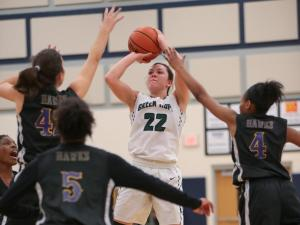 Girls Basketball: Green Hope vs. Holly Springs (Feb. 17, 2017)