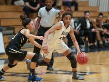 Girls Basketball: Knightdale vs. Hillside (Feb. 23, 2017)