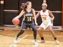 Girls Basketball: Rockingham vs. Orange (Feb 25,  2017)