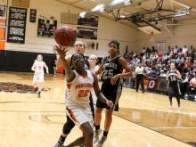 Girls Basketball: Rockingham vs. Orange (Feb 25,  2017)