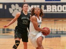 Girls Basketball: Green Hope vs. Millbrook (Feb. 25, 2017)
