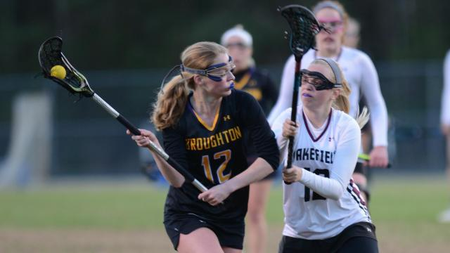 Girls Lacrosse: Broughton vs. Wakefield (Mar 23, 2017)
