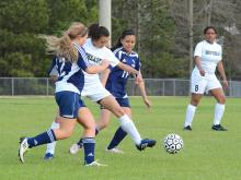 Girls Soccer: Smithfield-Selma vs. Southeast Raleigh (Apr. 8, 2013), Photo By: Beth Jewell