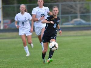 Girls Soccer: Panther Creek vs Green Hope (April 13, 2015)