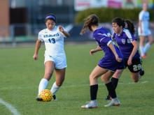 Girls Soccer: Broughton vs. Millbrook (Mar 20, 2017)