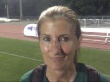 Cardinal Gibbons girls soccer head coach Michele Miller