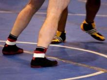 Wrestling Stock Image