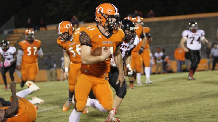 Football: Orange vs. Webb (Oct. 28, 2016)